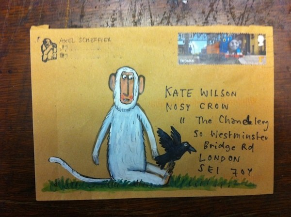 Envelopes from Axel Scheffler