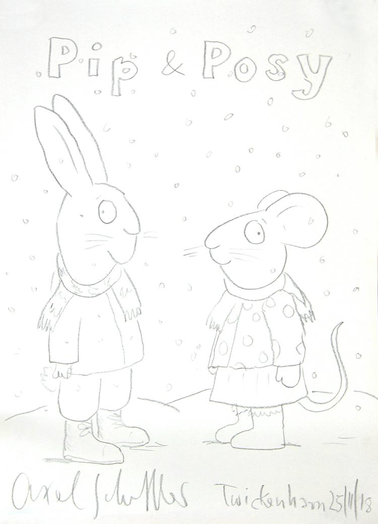 Pip and Posy | Axel Scheffler