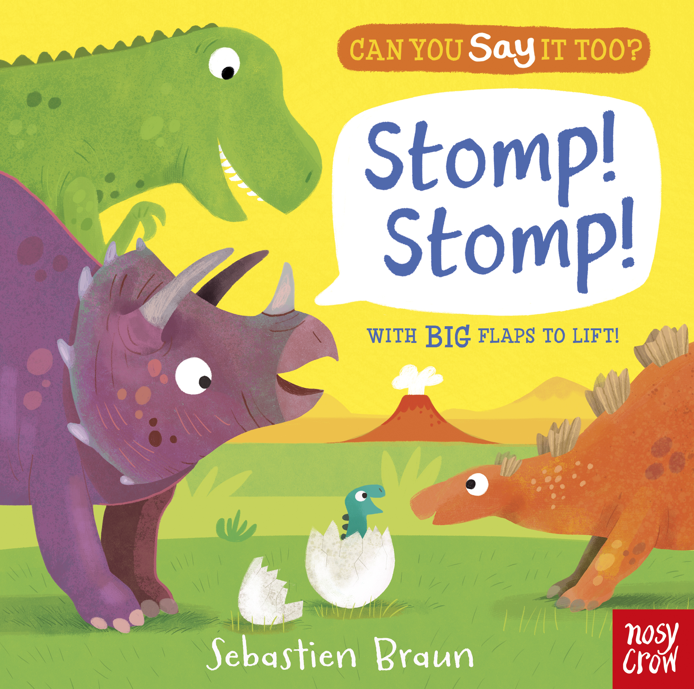 Can You Say It Too? Stomp Stomp