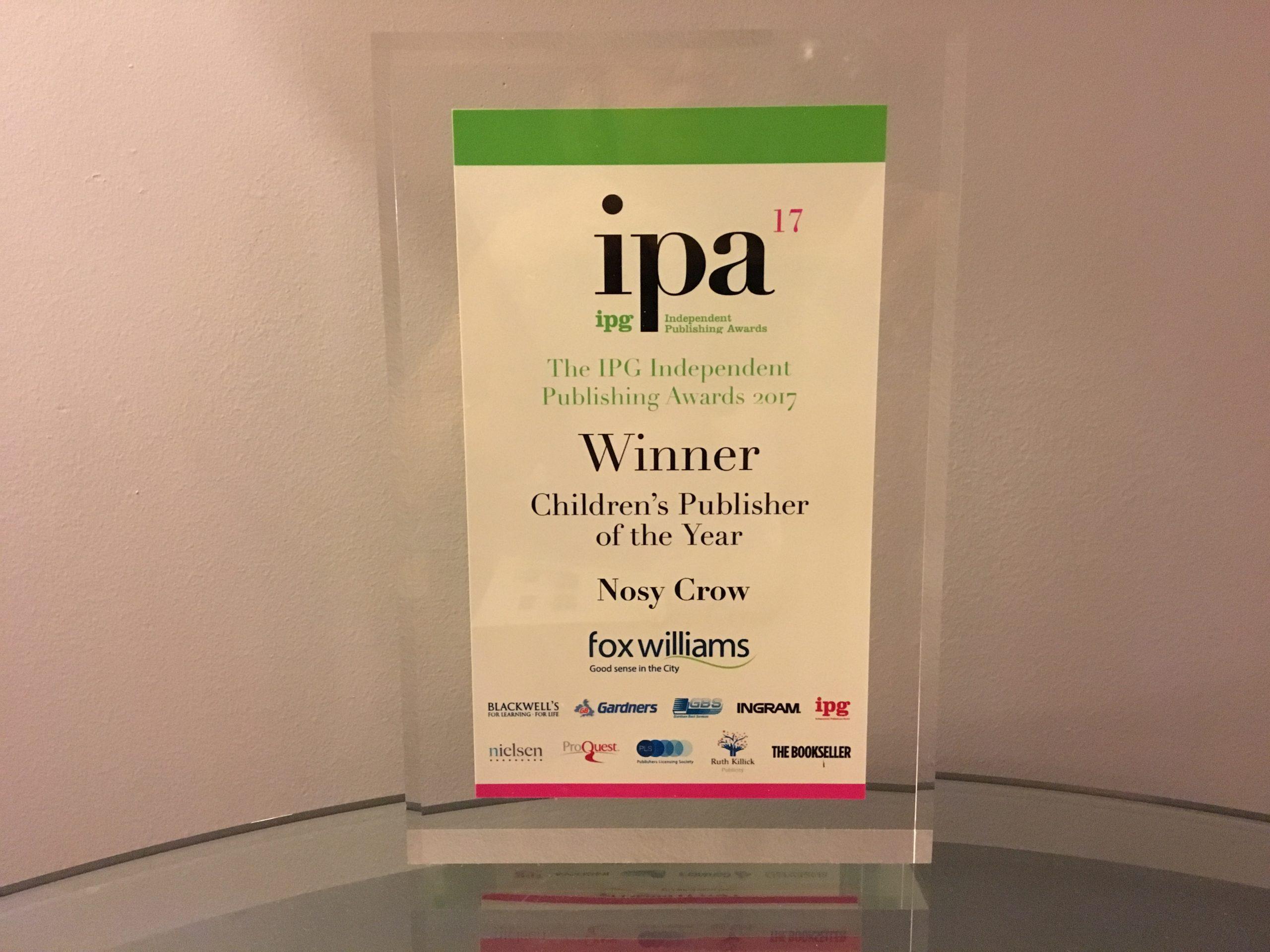 IPG Independent Publishing Awards