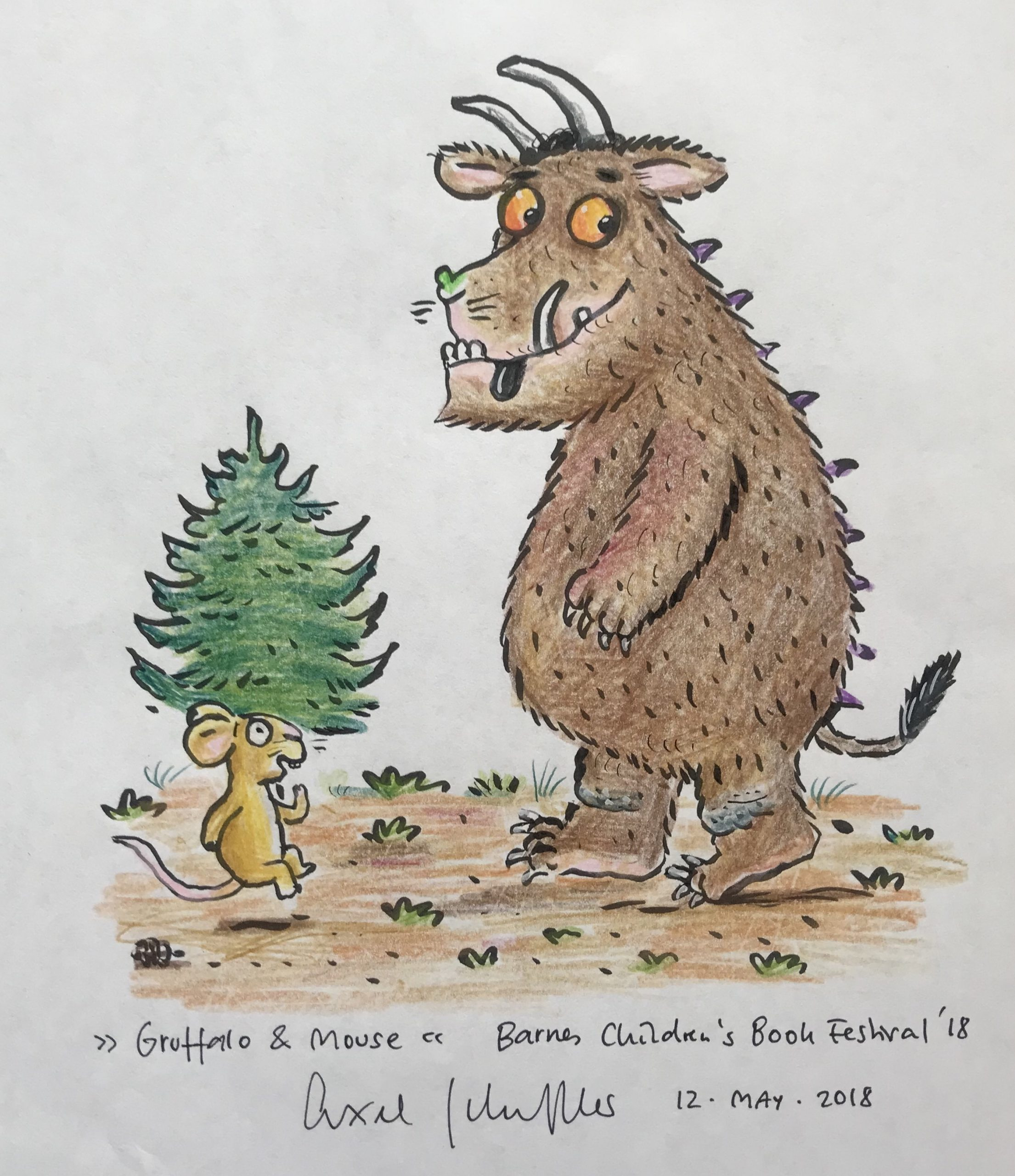 Mouse and The Gruffalo