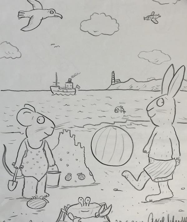 Pip and Posy - Beach