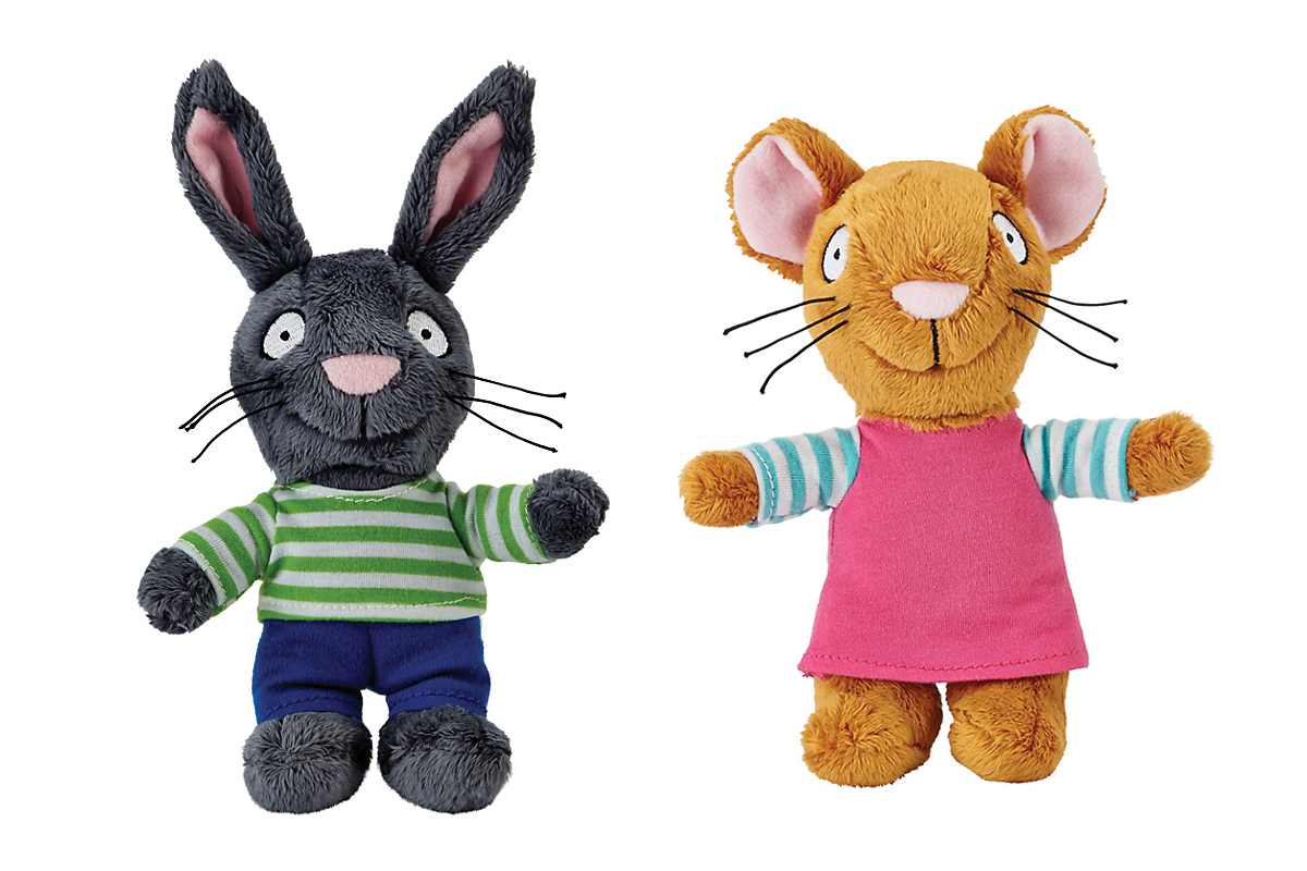 Pip and Posy | Pip and Posy soft toys | Axel Scheffler